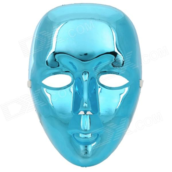 PVC Decorative Face Mask for Hip-Hop Bboy / JabbaWo - Blue