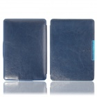 Protective PU Leather Flip Case Cover w/ Auto Sleep for Amazon Kindle Paperwhite - Blue