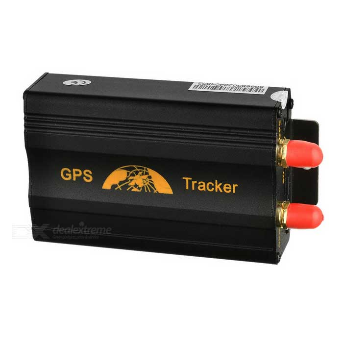 Glyby TK103 GPS / GSM / GPRS Car Vehicle Positioning Tracker System - Black