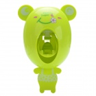 SP-006 Cute Frog Shape Lazy Man Automatic Toothpaste Squeezer - Grass Green