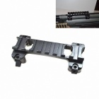 Acid Tactical Aluminum Picatinny Claw Rail Scope & Sight Mount for MP5 G3 GSG5 GSG-5 A5 - Black