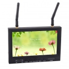 "SKY-701 5.8GHz Wireless FPV 7"" Diversity LCD Screen Receiver Monitor for FPV System - Black"