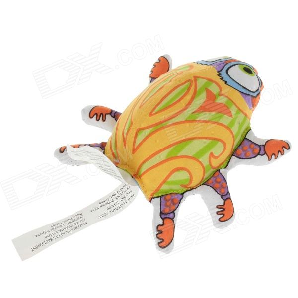 Lovely Ladybug Shape Pet Cat Toys - Yellow + Green + Multi-color одежда для дам in accordance with cloth y14c347 2014