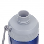 JINFENG Sport Pot Series Vacuum Thermos Belt Filter Cover / Hand Rope - Blue (500ml)