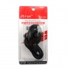 Jtron Car Resetable Refit Button Switch - Black (12V / 3A)