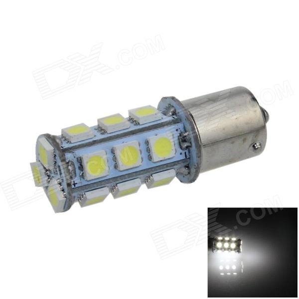 1141 / BA15S / 1156 4W 200lm 18 x SMD 5050 LED White Car Signal Light / Steering Lamp - (12V)