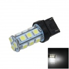 7443 / 7440 / T20 4W 200lm 18 x SMD 5050 LED White Car Steering / Brake / Backup / Tail Light (12V)