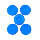 Protective Anti-Slip Silicone Caps for XBOX 360 / 360 Slim / One Joystick - Deep Blue (5 PCS)
