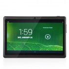 "P706 7.0"" Android 4.2 Tablet PC w/ Dual Core, 512MB RAM, 4GB ROM, Wi-Fi, Dual Camera - Black"