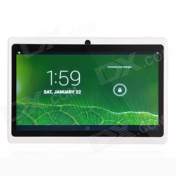 "P706 7.0"" Android 4.2 Tablet PC w/ Dual Core, 512MB RAM, 4GB ROM, Wi-Fi, Dual Camera - White"