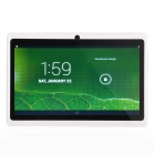 "P706 7.0 ""Android 4.2 Tablet PC w / Dual Core, 512 MB RAM, 4 GB ROM, WLAN, Dual-Kamera - Weiß"