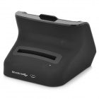 Convenient 2-output Charging Station for Samsung Note 3 N9000 - Black