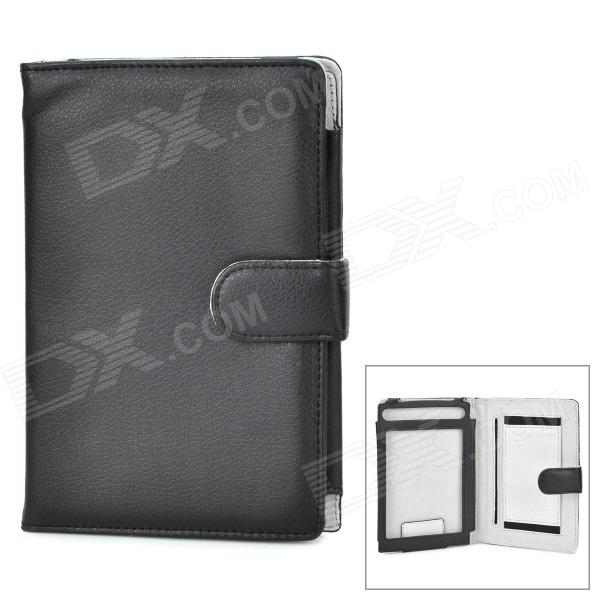 Universal Protective PU Case for Sony T1 / T2 - Black