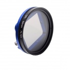 Fat Cat 52mm Converter + CPL Filter Circular Polarizer Lens Filter for Gopro Hero3+  Housing - Blue