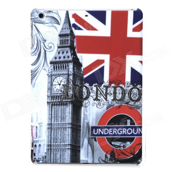 все цены на a-336 Big Ben / UK Flag Pattern Protective PC Back Case for Ipad AIR - Grey + Black онлайн