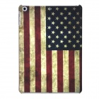 a-336 US Flag Pattern Protective PC Back Case for Ipad AIR - Red + Blue