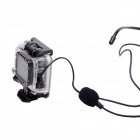 Noise Reduction Directive Sport Microphone for GoPro Hero 3+/3 - Black