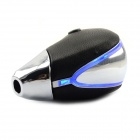 Jtron Short Paragraph Touch-emitting Shift Knob / Built-in Lithium Battery Blue Light - Silver