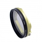 Fat Cat 58mm Converter + CPL Filter Circular Polarizer Lens Filter for Gopro Hero3 Housing - Green