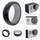 Fat Cat Professional High Transmittance Glass 37mm FPV Protective UV Lens for Gopro Hero3+ / Hero3