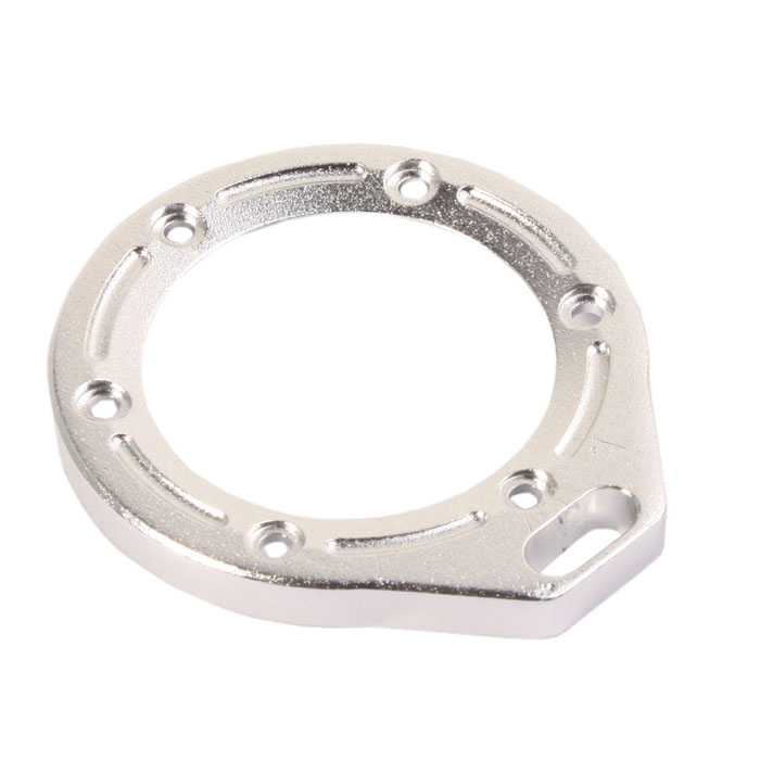 DUALANE -Aluminum Alloy Lens Ring with Turn Screw for Gopro Hero2 - Silver