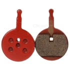 Novich DIY Semimetallistic Composite Disc Brake Pad - Red (2 PCS)