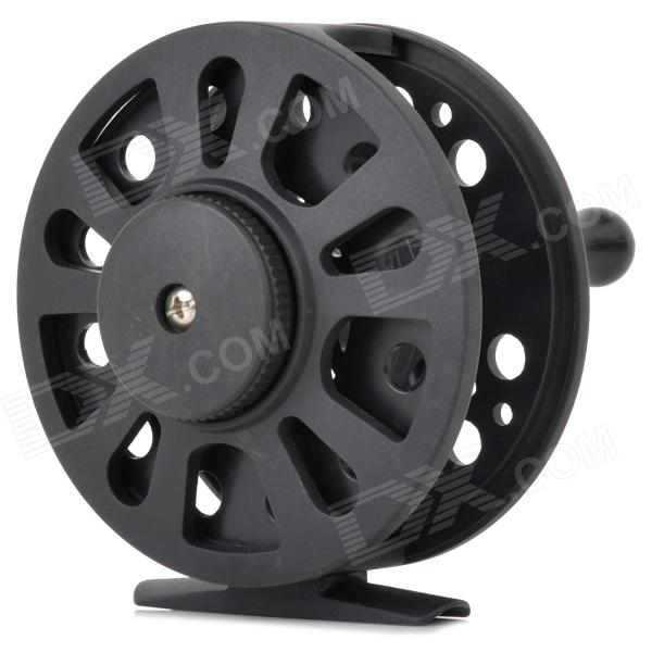 7/8 Convenient Bidirectional Rotating Fishing Thread Reel - Black