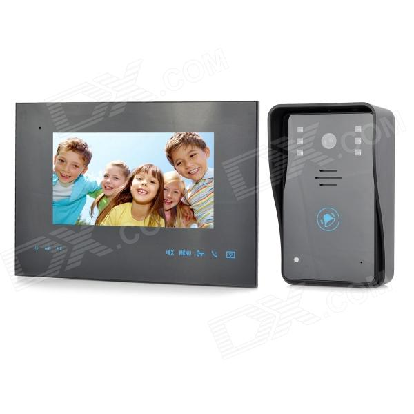 "ZnDiy-BRY 2.4GHz 7"" TFT Wireless Video Door Phone w/ Motion Detection"