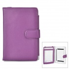 Universal Protective PU Case for Sony T1 / T2 - Purple