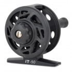 IT-50 Convenient Bidirectional Rotating Fishing Thread Reel - Black