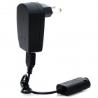 AC Power Adapter w/ Charging Cable for Electronic Cigarette - Black (AU Plug)
