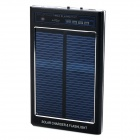 "FT-2600 Universal 3.7V ""2600mAh"" Li-ion Rechargeable Battery Solar Power Bank w/ LED - Black"
