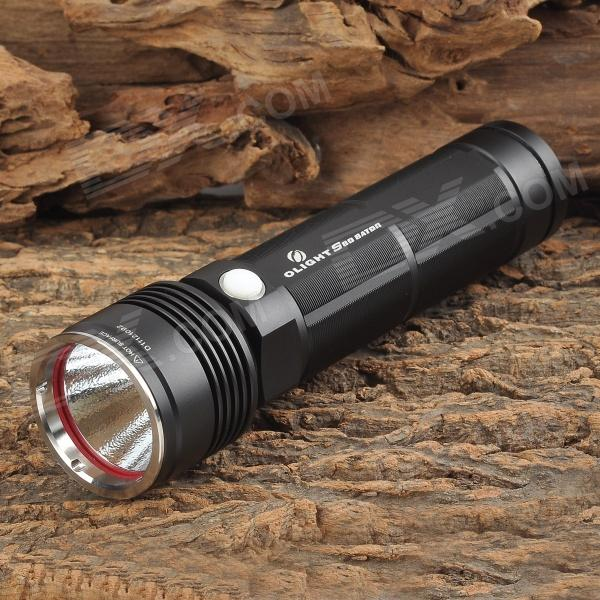 Olight S80 Cree XM-L U2 750lm 4-Mode Memory White Flashlight - Black (1 x 26650)