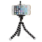Multi-Function Octopus Style Tripod for Cell Phone / Camera - White + Black