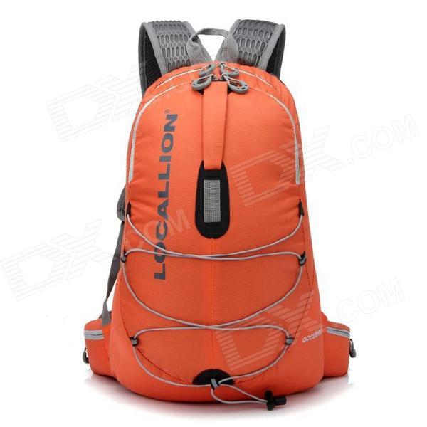 Locallion WH023 Outdoor Multi-function Backpack Bag - Orange (35L)