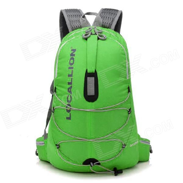 Locallion WH023 Outdoor Multi-function Backpack Bag - Green (25L) locallion h 012 outdoor sports multifunction nylon backpack bag army green