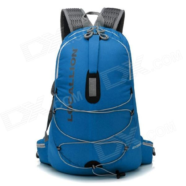 Locallion WH023 Outdoor Multi-function Backpack Bag - Blue (25L) locallion spo440 outdoor multi function backpack w water bag compartment blue