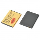 "Replacement ""2430mAh"" + ""1500mAh"" Battery for Samsung Galaxy Ace S5830 - Golden + Black (2 PCS)"