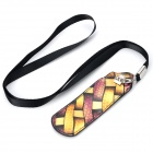 Leopard Pattern PU Leather Case Bag for EGO Series Electronic Cigarette - Black + Golden