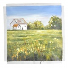 Iarts DX(1122) Hand-painted Idyllic Scenery Oil Painting Decorative Artwork - Multicolored