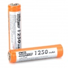 "MP 1.2V ""1250mAh"" Ni-MH Rechargeable AAA Batteries - Orange + Silver (2 PCS)"