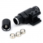 spike Aluminum Alloy Red Laser Gun Aiming Scope Sight - Black