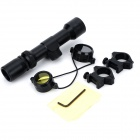 2~6X Magnification Gun Aiming Scope Sight for M14+ More - Black