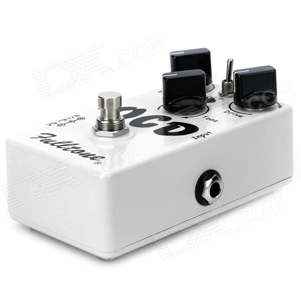 57 Guitar Effect Pedal (OCD) Ultimate Drive - White new nux drive core stomp boxes core series overdrive core true bypass guitar effect pedals 1 pc pedal connector