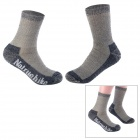 Naturehike SM08 Men's Outdoor Sports Climbing Running Socks - Grey (Size 39~43)