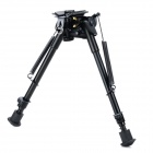 "Universal 9"" Camera Retractable Bipod for M4 Carbine + M4A1 Gun + More - Black"