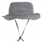 OUTFLY Quick Dry Альпинизм Путешествия Буш Hat Cap - Grey