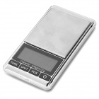 "FLY Technology DS-16 Digital 1.8"" 5-Digit LED Digital Jewelry Scale - Silver + Cobalt Blue"