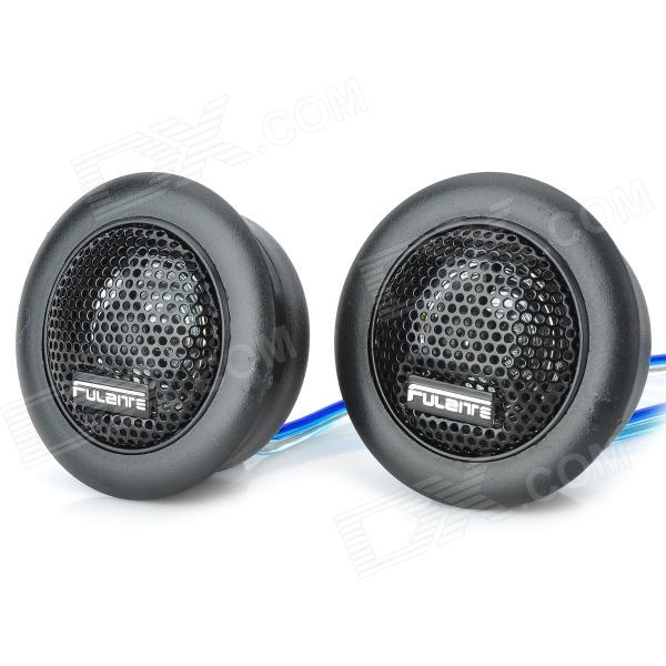 FLT-102 Car Audio System Loudspeaker - Black