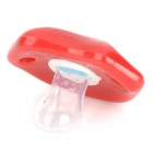 Ruffian Teeth Style Baby's Nipple Pacifier - Red + White